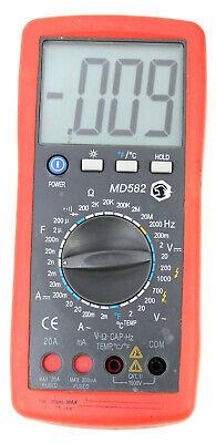 Matco Md582 Digital Multimeter Tester