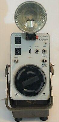 General Radio Strobotac Type 1538-a Electronic Stroboscope