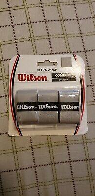 Wilson Comfort Overgrip Ultra Wrap Gray Tennis Racket Grip