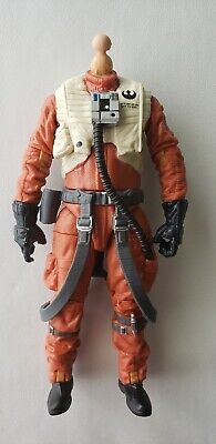 STAR WARS BASIC BODY FOR RESISTANCE PILOT BLACK SERIES 6 INCH FIGURE 1:12 SCALE