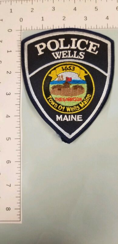 Wells, Maine Police Department Patch