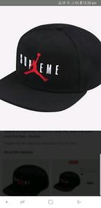 Rare genuine Supreme X Jordan cap  8c1489a5236
