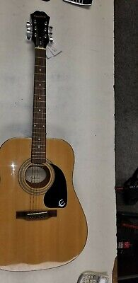 Epiphone acoustic guitar used