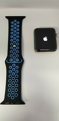 Apple Watch Series 3 Hermes 42mm Stainless Ceramic (Cellular) 16gb A1861 VG8374