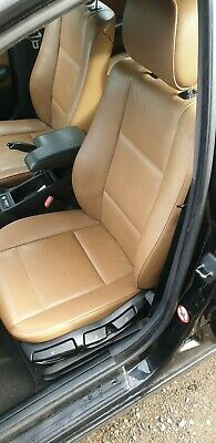 BMW E46 TOURING CINNAMON LEATHER INTERIOR SEATS,INC DOOR CARDS,EXCELLENT,HEATED