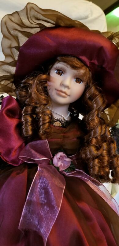 Victorian Beauty Porcelain Doll by Dolgencorp