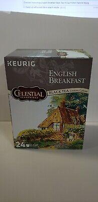 Celestial Seasonings English Breakfast Black Tea, K-Cup Portion Pack for Keurig  ()
