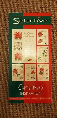 Christmas Cards Christmas Inspiration. New 144 In One Pack. Bulk job lot