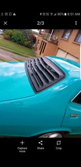 Lc lj torana rear visor louver external Venetian