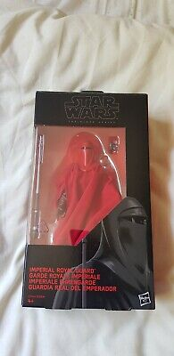 "Hasbro STAR WARS 6"" inch Black Series Action Figure #38 IMPERIAL ROYAL GUARD"