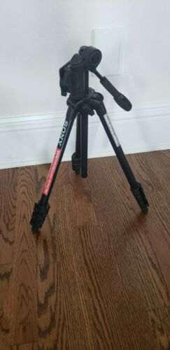 Sony VCT-1500L Adjustable Television Video Camera Tripod Goes To 5 Feet - $14.99
