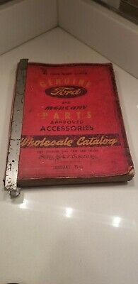 1938 - 1946 Ford Mercury Car Truck Parts and Accessories Catalog Book Wholesale