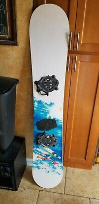 Burton Super Fly Board with Click in Bindings