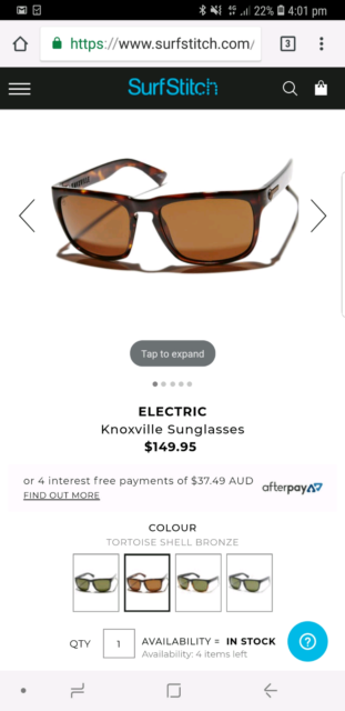 0a0c76238f5 Electric Knoxville Mens Sunglasses (Polarised)