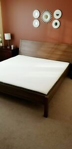 King size bedroom set new condition Moving out Need to go ASAP