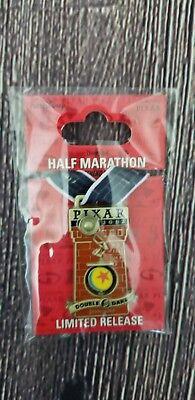 RunDisney Disneyland Half Marathon Double Dare Luxo Pixar Medal Pin Limited 2017