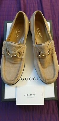 Gucci Women Pony Hair Loafers Shoes Uk 4