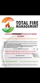 $49.99 DOMESTIC SMOKE ALARM TESTING