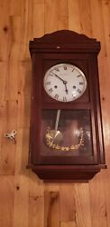 Kassel 31 Day Vintage Wind Up Wall Clock with key