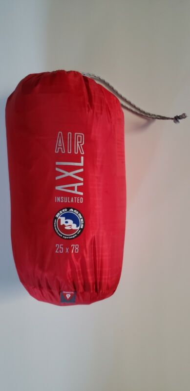 Big Agnes Insulated AXL Air Sleeping Pad Red 25x78