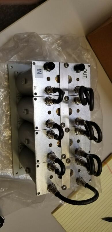 Microwave Filter Company 17700-34 QAM Channel Deletion Filter