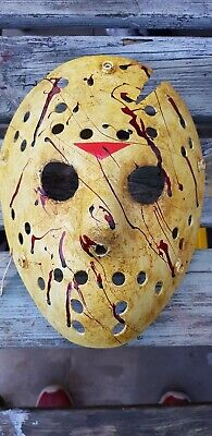 Friday the 13th  part 6 Jason  Vorhees  custom made Mask Halloween horror (Halloween Friday 13th)