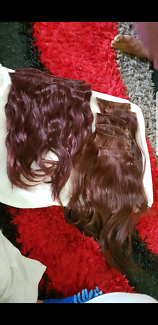 Real hair extensions 18inch for quick sale