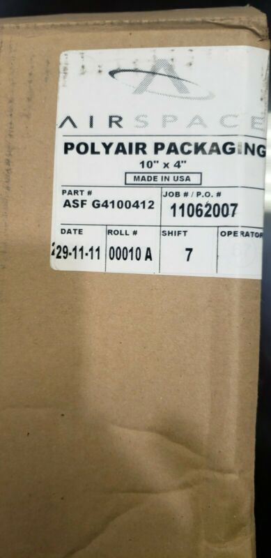 """Polyair 10""""x 4"""" Air Pillows"""