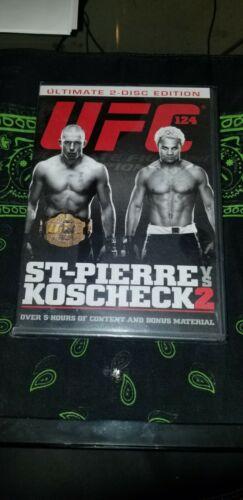 UFC 124 St-Pierre Vs. Koscheck 2 DVD, 2011, 2-Disc Set SEALED - $6.00