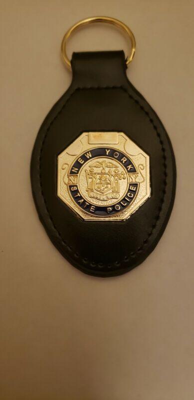 NY State Police Mini Shield Keychain