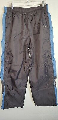 Nike Nylon Track Pants Adult 2XL Gray ( Free Shipping )