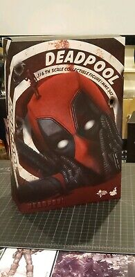 Hot Toys DEADPOOL NEW MMS 347 1/6 Figure Genuine Sealed.
