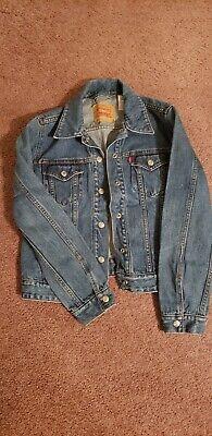 Levis Snap Front Denim Jacket Womens Large