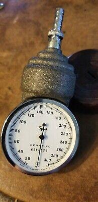 Tycos Blood Pressure Sphygmomanometer Gauge 20-300 - Certified 6282582 Vintage