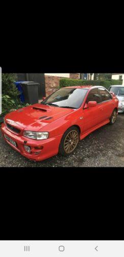 Image of Subaru Impreza wrx project (red rare)