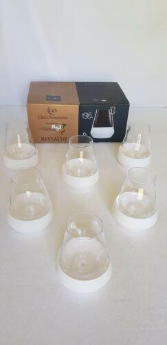 Coffret c&s 6 verres à vin reveal'up soft fresh 30cl kwarx chef & sommelier