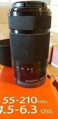 Sony E mount 55-210 Zoom lens for a Sony A5000