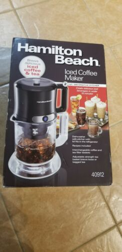 hamilton beach iced coffee tea maker 40912 10min