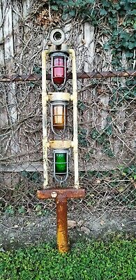 Vintage Industrial Explosion Proof Lighting System From Factory Very Rare