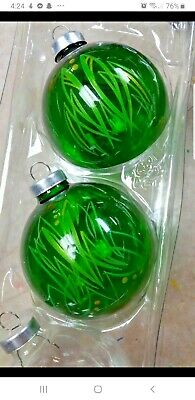 Hand striped Hot Rod Christmas Ornaments Pinstriped Rat Rod XMAS Garage ()