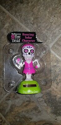 New Halloween Day of The Dead Pink Skeleton Woman Solar Dancing Character ](Halloween Dancing Characters)