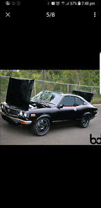 Mazda Rx3 808 Coupe complete roller built fast car