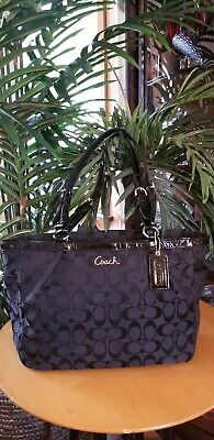 COACH East West Tote BLACK