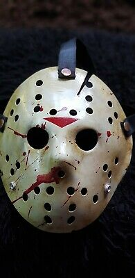 Friday the 13th part 6 Jason  Vorhees  custom made Mask Halloween horror - Custom Made Halloween Masks