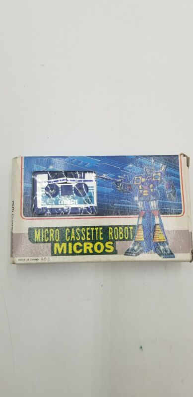 Vintage Micro Cassette Transform Robot Mini Change Series 01
