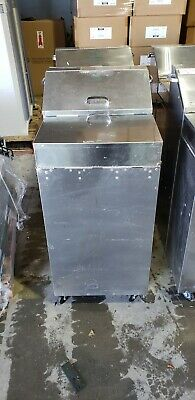 Stryker  301 Plaster Dispenser Stainless Steel Cart