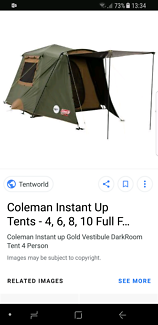 Coleman Ranger Tent  sc 1 st  Gumtree & coleman tent in The Vines 6069 WA | Camping u0026 Hiking | Gumtree ...