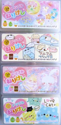 Kamio Triple Eraser Set (Your Choice of Design)~KAWAII!!