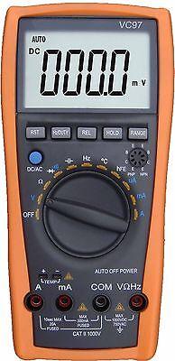Vc97 Lcd Auto Range Multimeter Capacitance Resistance Vs Fluke 15b Tester
