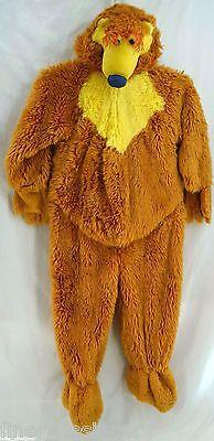Bear Big Blue House costume Halloween faux fur Disney tv character mascot 4T VTG](Halloween Costume Disney Characters)